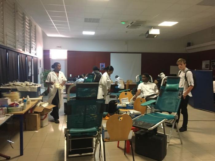 Don du sang : 31 poches de sang collectées au lycée de Bellefontaine