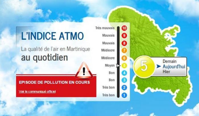 Du changement dans la surveillance de l'air en Martinique !
