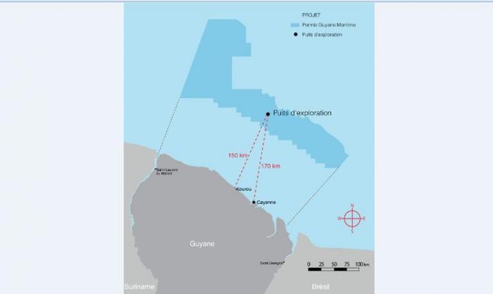 Echec de Total en Guyane : pas une goutte de pétrole dans le forage d'exploration