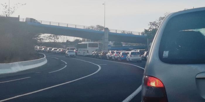 Embouteillage à Bellefontaine