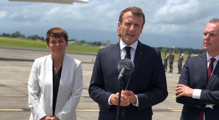 Emmanuel Macron veut mettre fin à la politique de clientélisme en Guadeloupe