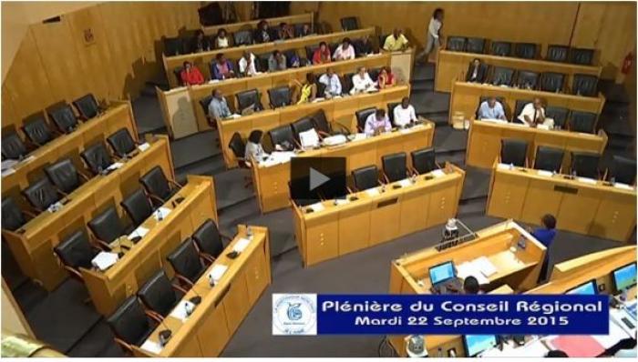 EN VIDEO : la plénière de rentrée au conseil régional de la Martinique ce mardi 22 septembre