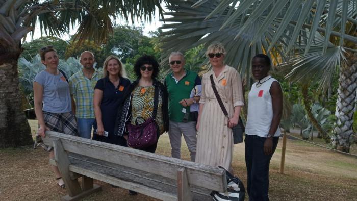 Erasmus : des enseignants en Martinique pour clôturer un travail éducatif avec des lycéens