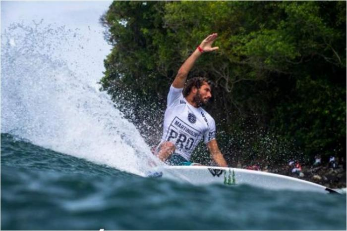 Et de trois pour le Martinique Surf Pro, plus de 120 surfeurs prêts à en découdre avec les vagues de Basse-Pointe