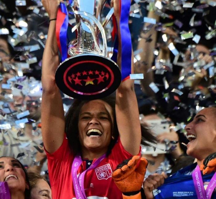 Et de trois pour les filles de l'Olympique Lyonnais vainqueur de la ligue des champions féminine 2016