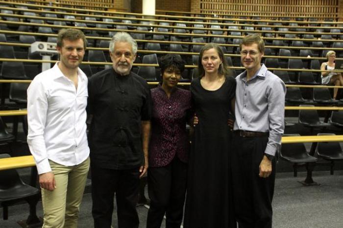 Euzhan Palcy invitée à un hommage à André Brink au Cap (Afrique du Sud)