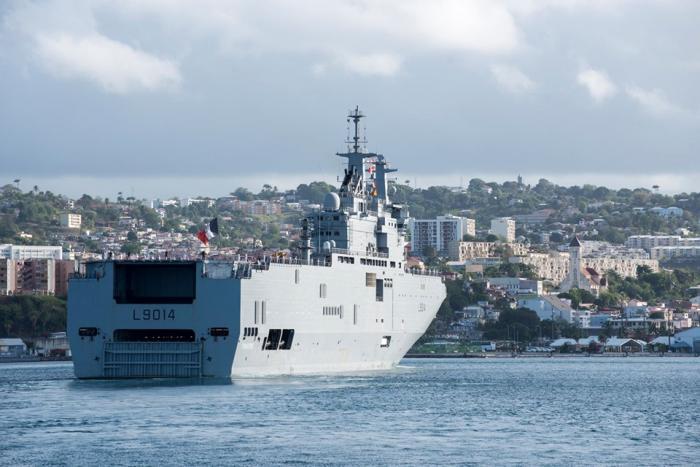 Exercice militaire d'envergure dans le sud Basse-Terre
