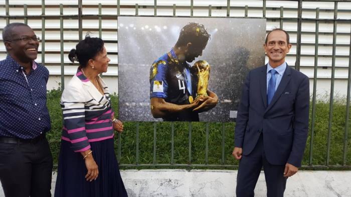 Exposition des champions du monde à la Préfecture de la Martinique