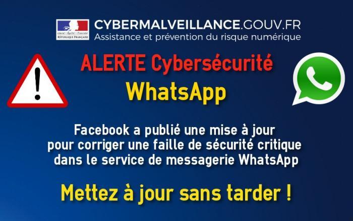Faille de sécurité majeure dans le service de messagerie Whatsapp