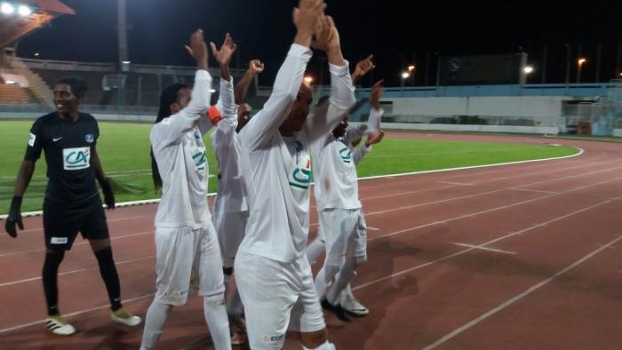 Finale Coupe de France zone Martinique : victoire du Club Colonial face au Club Franciscain