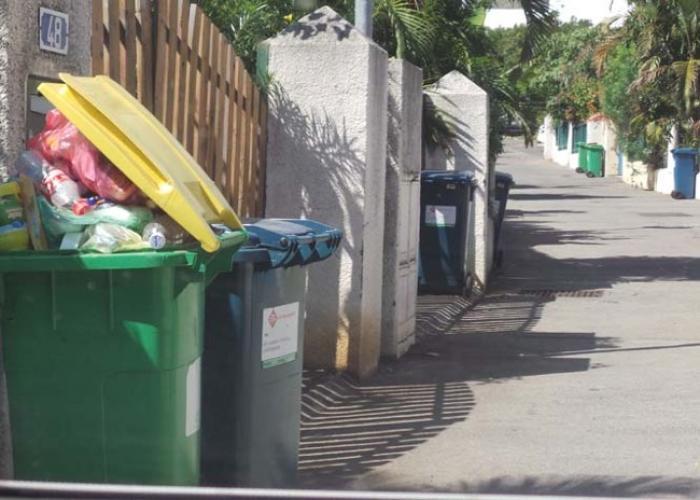 Fiser en grève, pas de ramassage des poubelles