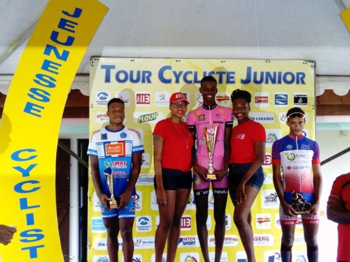 Florian René remporte la 3e étape, Edwin Nubul reste en jaune
