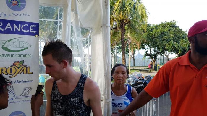 Félix Bour remporte le 33e semi-marathon de Fort-de-France