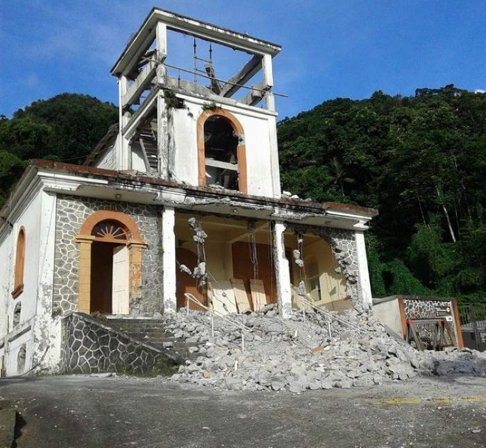 Fonds Saint-Denis : chute mortelle sur le chantier de rénovation de l'église