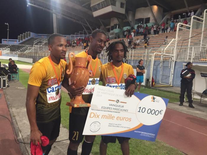 Football : le Golden Lion s'adjuge la coupe de Martinique