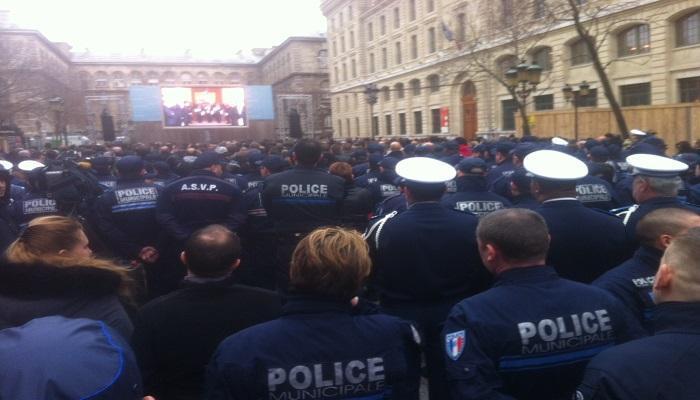 François Hollande a rendu hommage aux 3 policiers victimes des attentats