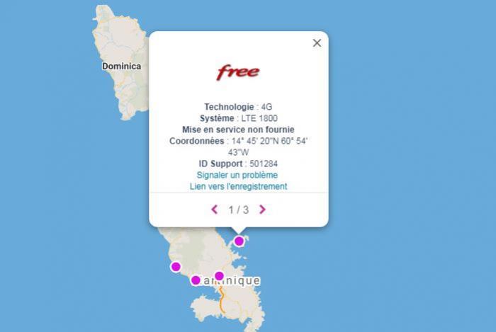Free commence à déployer ses antennes en Martinique