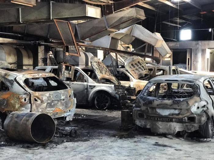 Garage Buliard : les images du sinistre