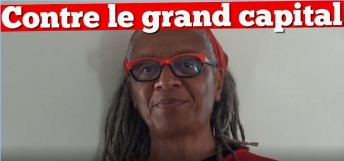 Ghislaine Joachim-Arnaud est en troisième position sur la liste de Lutte Ouvrière aux élections européennes