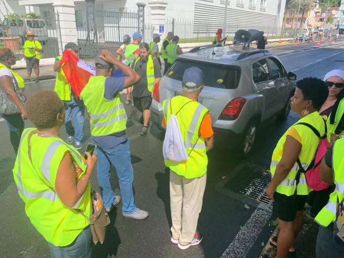 Gilets Jaunes : une quarantaine de manifestants mobilisés en Martinique