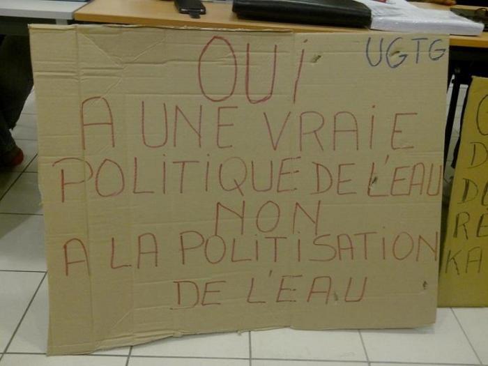 Générale des Eaux : la grève continue