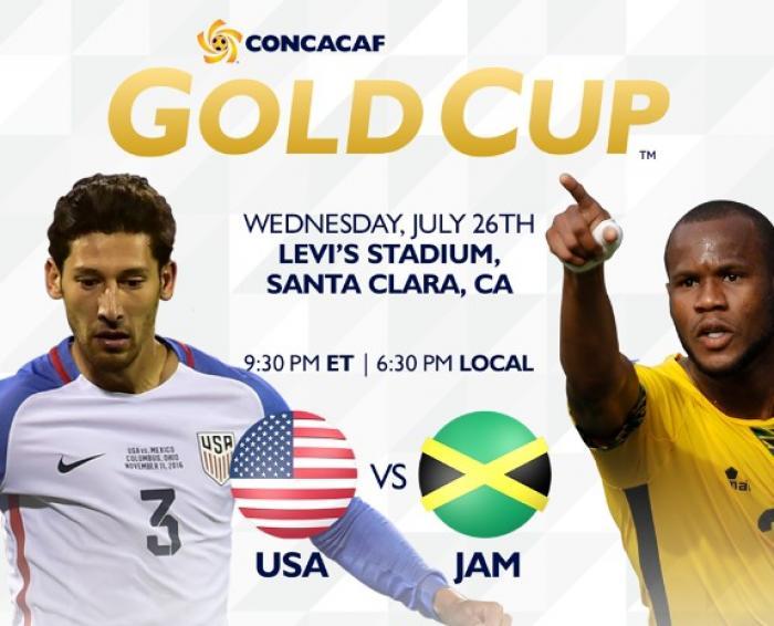 Gold Cup 2017 : la Jamaïque affronte les Etats-Unis en finale