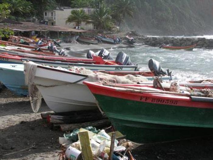 Grand-Rivière : les marins-pêcheurs en colère