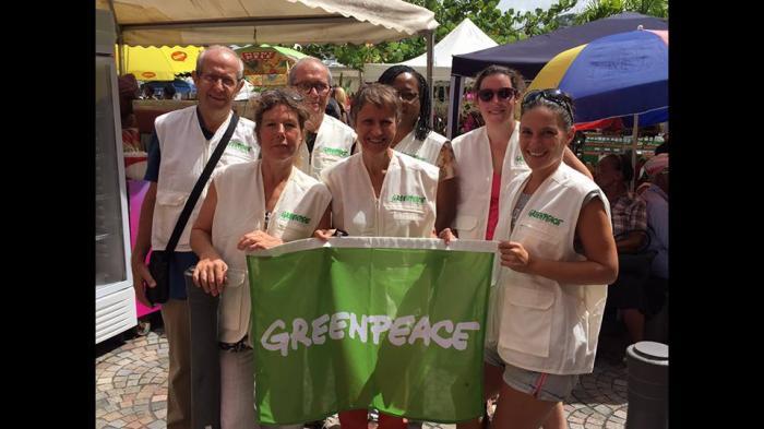 Greenpeace réunit son bureau local en Martinique
