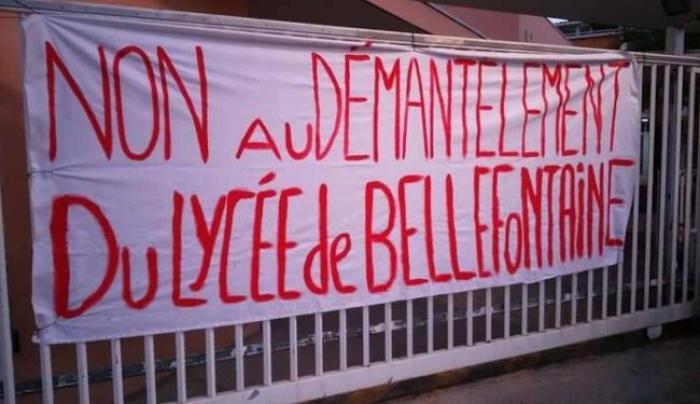 Grève au lycée hôtelier de Bellefontaine