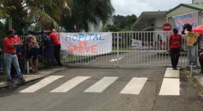 Grève hôpital de Trinité : l'intersyndicale a rencontré l'ARS
