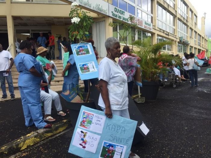 Grève à la clinique Sainte-Marie : vers un durcissement ?