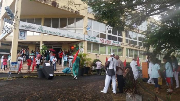 Grève à la clinique Sainte-Marie