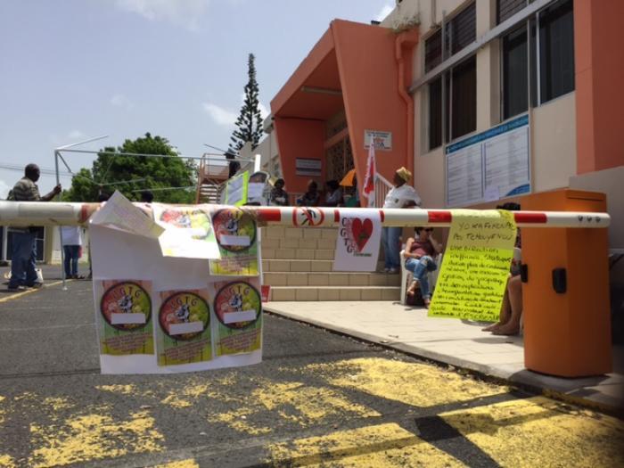 Grève à la Polyclinique de Pointe-à-Pitre