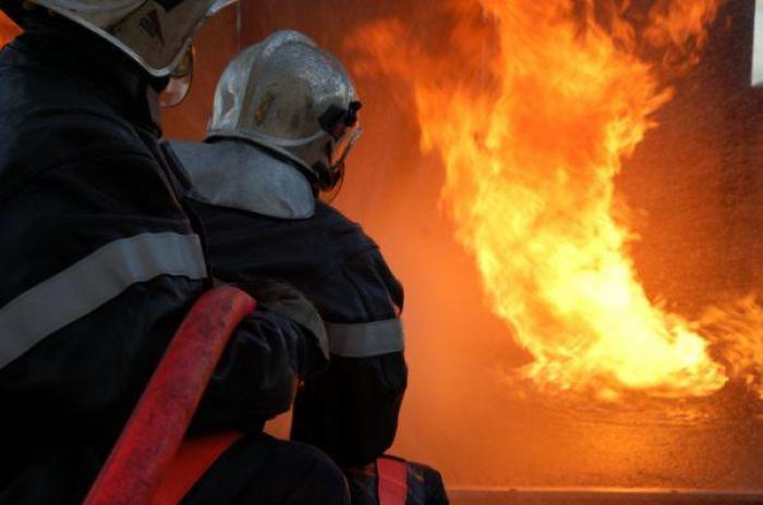 Gros incendie à Capesterre-Belle-Eau