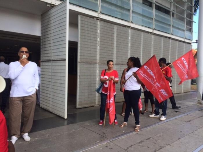 Habitation Dillon : les salariés se mobilisent pour une marche