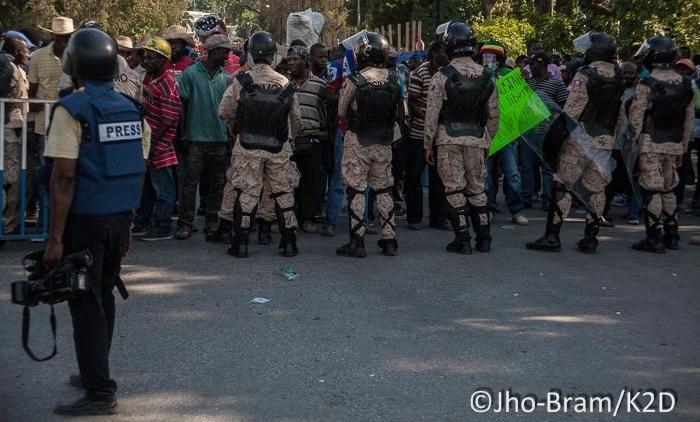 """Haïti : """"Généralement les manifestations partent du Bel Air"""""""