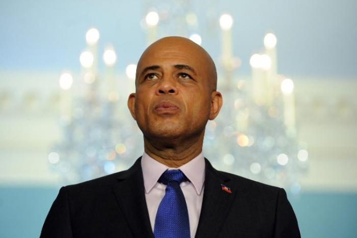 Haïti : Le Président Martelly profère une injure sexiste au cours d'un meeting !