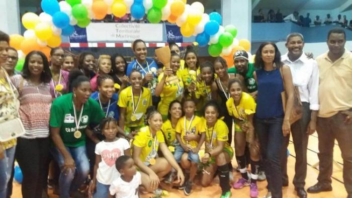 Handball : Le Réveil Sportif (femmes) et l'Etoile de Gondeau (hommes) sont champions de Martinique