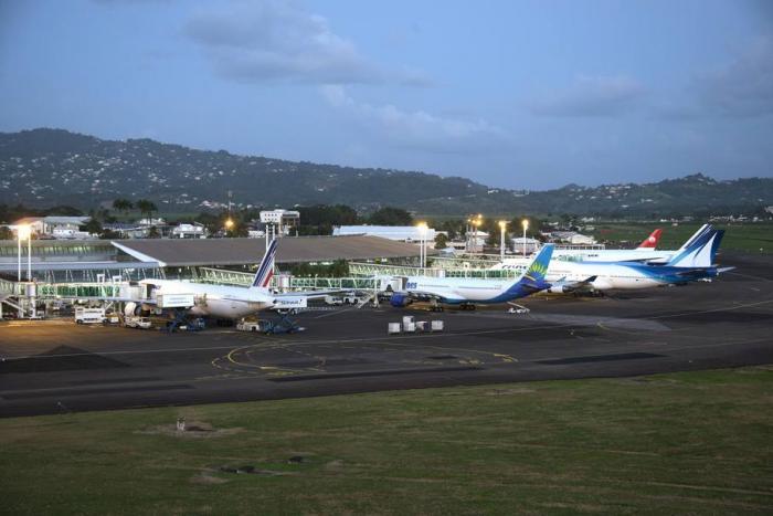 Hausse du trafic passager de 13,05% à l'aéroport Aimé Césaire en avril 2017