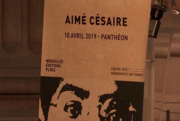 Hommage à Aimé Césaire au Panthéon