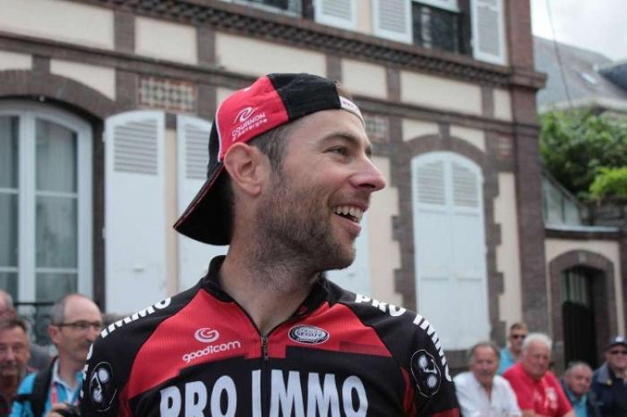 Huitième étape, premier tronçon, victoire de Sylvain Georges