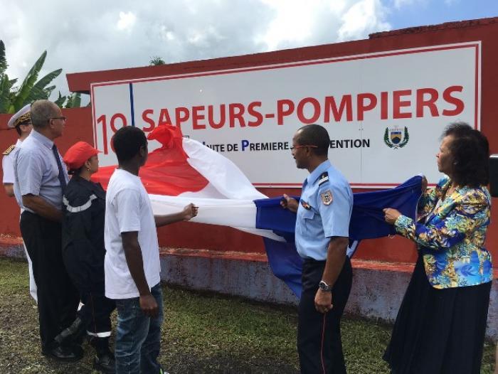 Inauguration d'une unité de première intervention au Morne-Rouge