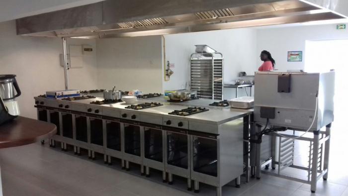 Inauguration de la nouvelle cuisine pédagogique de la Ruche