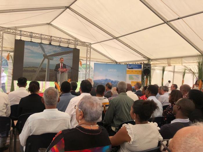 Inauguration du parc éolien de Grand Rivière
