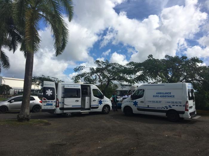 Incendie CHU Point-à-Pitre : une dizaine de patients attendue dans l'après-midi en Martinique