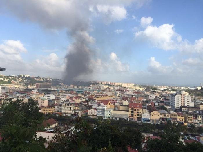 Incendie dans une maison d'habitation à Sainte-Thérèse (FDF)