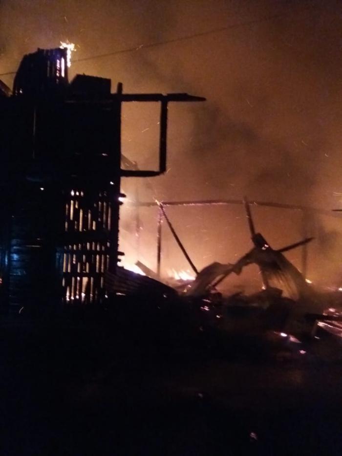 Incendie de Basse-Terre : le pire a été évité