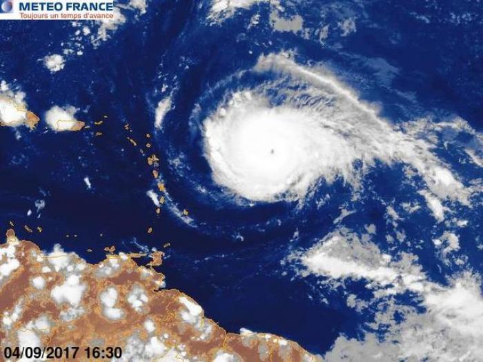 IRMA est un ouragan de catégorie 4