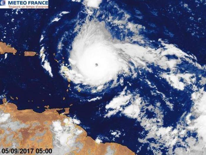 Irma est un ouragan de catégorie 5