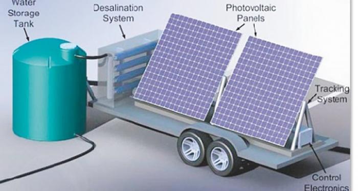 IRMA : une usine mobile de désalinisation arrive aujourd'hui à Saint-Martin